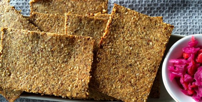Almond & Herb Crackers